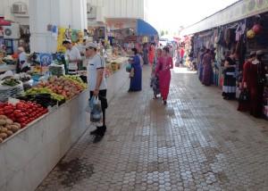 Русский базар в Ашхабаде