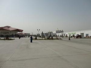 Просторы рынка Толкучка в Ашхабаде