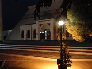 Фасад мечети
