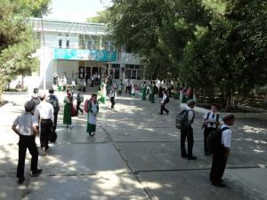 Перед школой