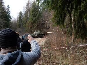 Убытие танка