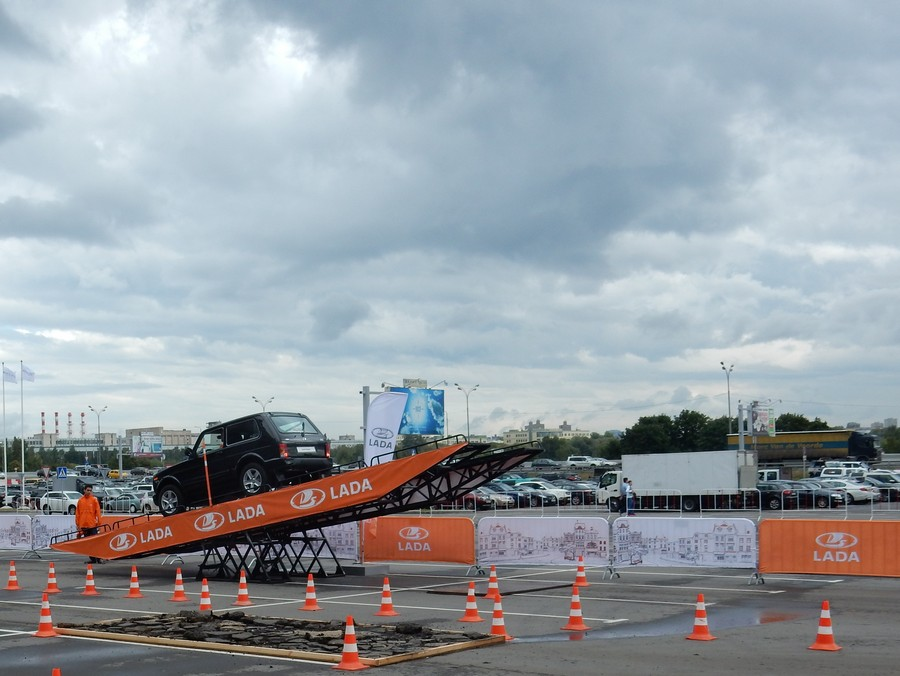 Moscow Offroad Show ВАЗ 4*4
